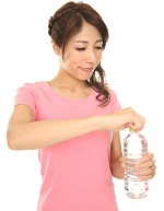 便秘解消の水分摂取