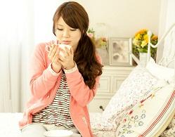 就寝前の冷え予防の便秘解消茶
