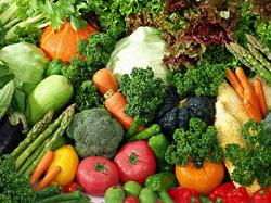 食物繊維を含む野菜